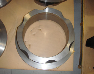 CNC Finished Machined Iron Head - Top