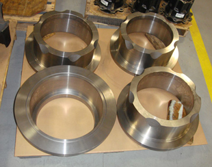 CNC Machined Ductile Iron Heads