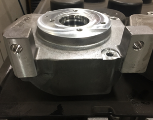 CNC Lathe Machined Motor Housing