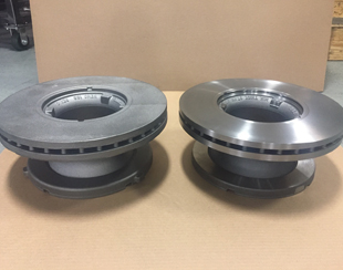 Cast Iron Machined Rotors